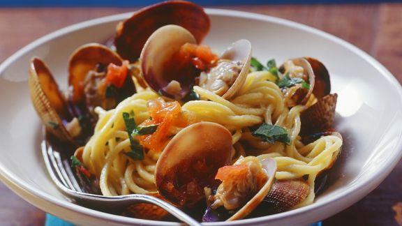 Rezept: Spaghetti alle vongole