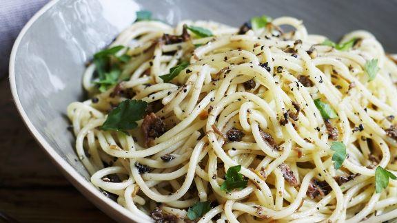 Rezept: Spaghetti mit Trüffelpaste