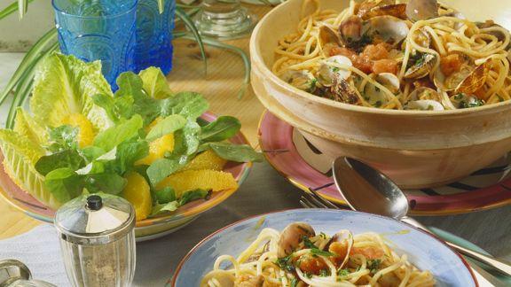 Rezept: Spaghetti vongole