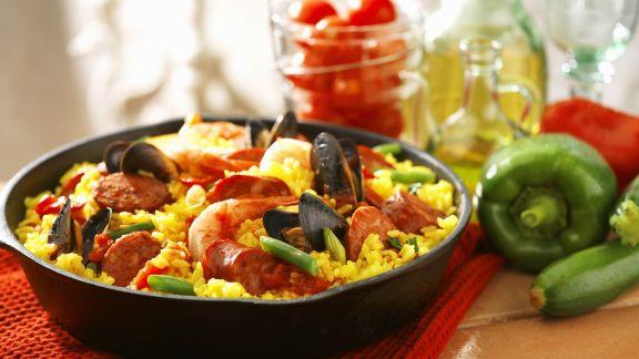 Rezept: Spanische Paella