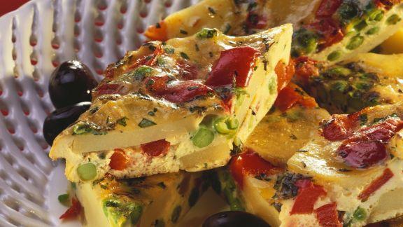 Rezept: Spanische Tortilla mit Gemüse
