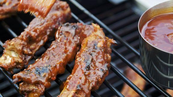 Rezept: Spareribs mit Barbecuesoße