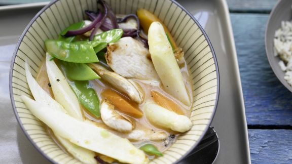 Rezept: Spargel-Curry