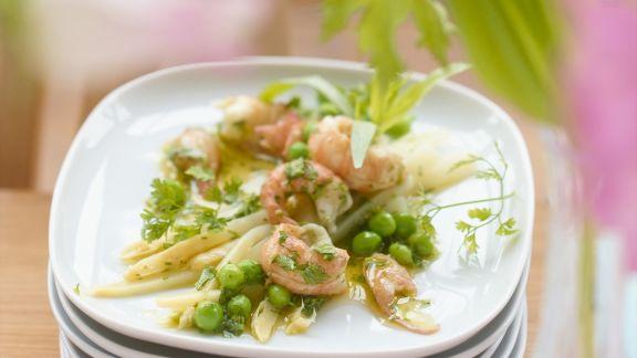 Rezept: Spargel-Krabben-Salat