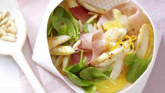 Rezept: Spargel-Orangen-Salat
