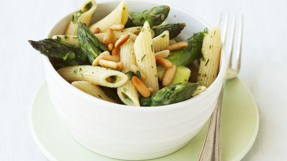 Rezept: Spargel-Pasta-Salat