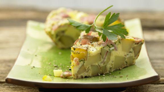 Rezept: Spargel-Schinken-Omelett