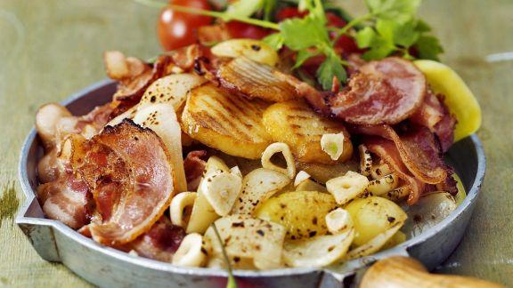 Rezept: Speck-Bratkartoffeln