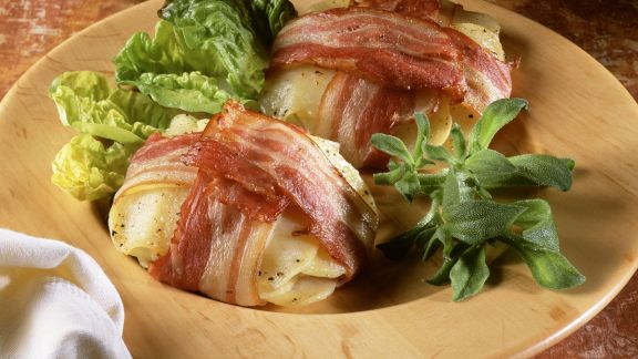 Rezept: Speck-Kartoffel-Päckchen