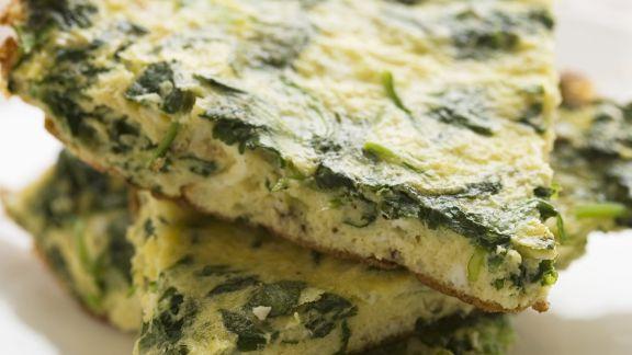Rezept: Spinat-Frittata