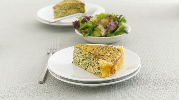 Rezept: Spinat-Lachs-Kuchen