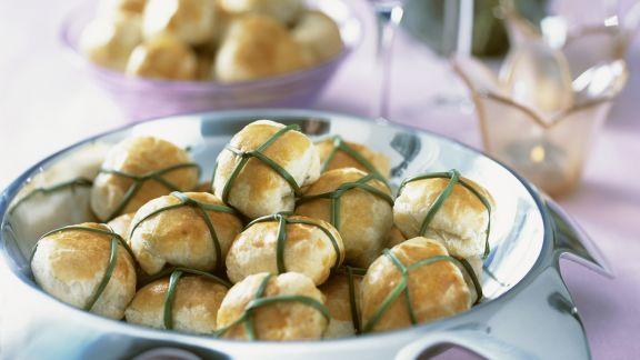 Rezept: Spinat-Mozzarella-Bällchen