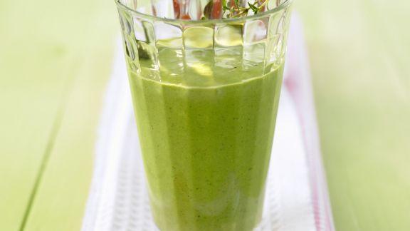 Rezept: Spinat-Smoothie mit Joghurt