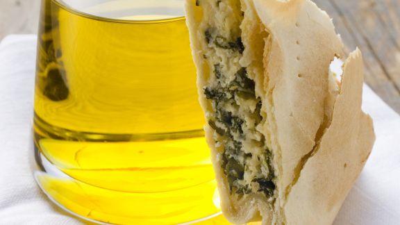 Rezept: Spinatkuchen mit Ricotta