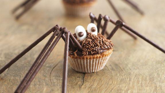 Rezept: Spinnen-Muffins für Halloween