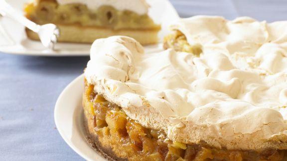 Rezept: Stachelbeer-Baiser-Kuchen