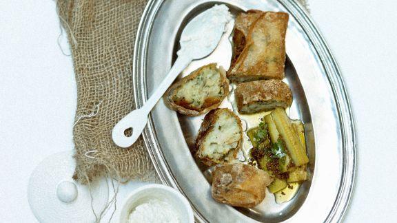 Rezept: Stockfischgebäck mit Brickteig