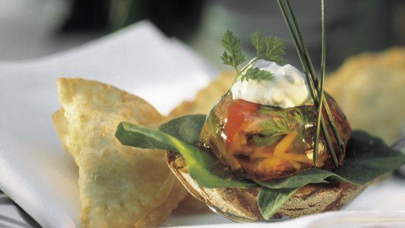 Rezept: Sülze mit Tafelspitz dazu Mayonnaise