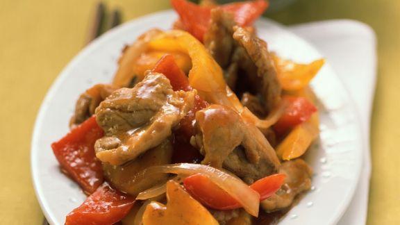 Rezept: Süß-saures Schweinefleisch