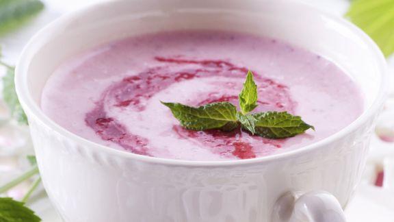 Rezept: Süße Erdbeersuppe