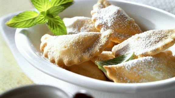 Rezept: Süße Kichererbsen-Ravioli