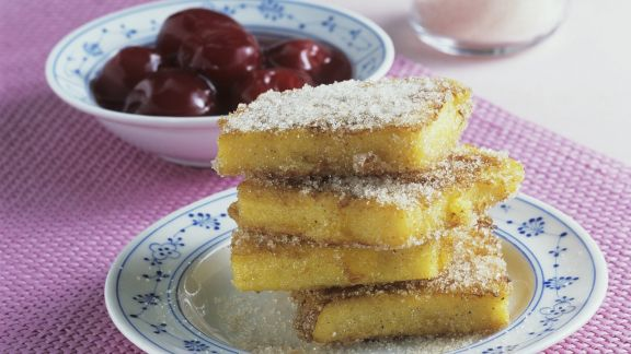 Rezept: Süße Polentaschnitten