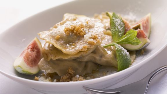 Rezept: Süße Ricotta-Ravioli