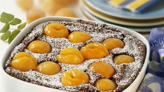 Rezept: Süßer Auflauf mit Aprikosen