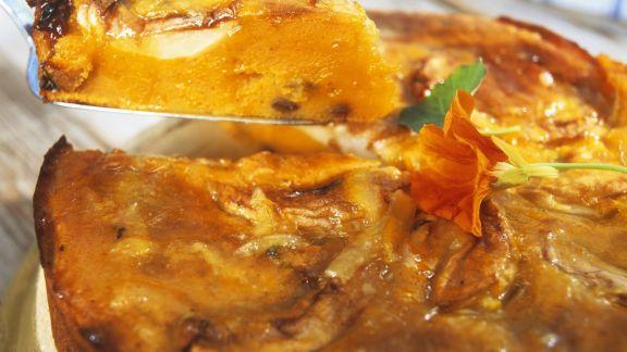 Rezept: Süßer Kürbis-Apfel-Kuchen