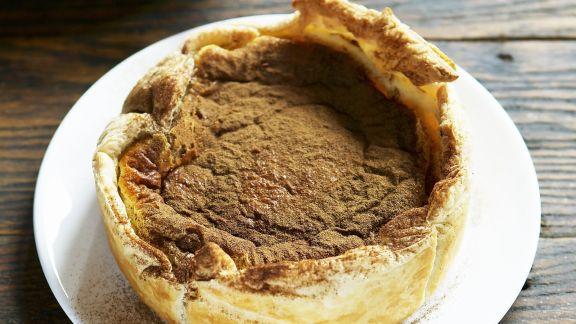 Rezept: Süßer Milchkuchen (Milktarte) auf südafrikanische Art
