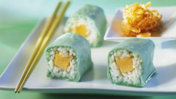 Rezept: Süßes Sushi