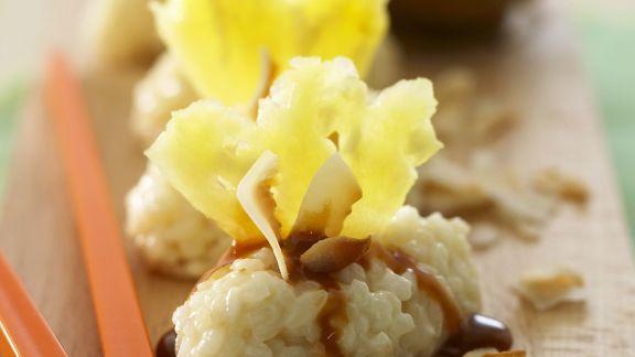 Rezept: Süßes Sushi mit Ananas