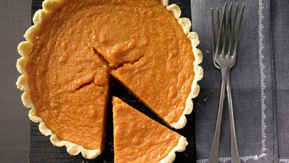 Rezept: Süßkartoffel-Pie