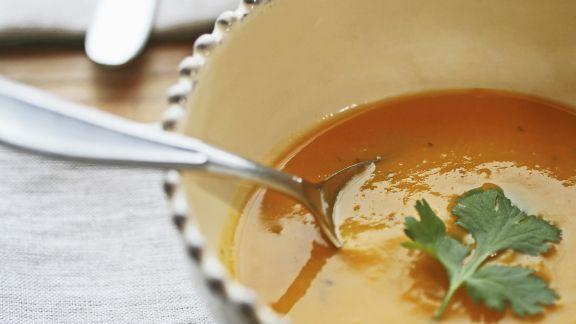 Rezept: Suppe aus Butternut-Kürbis