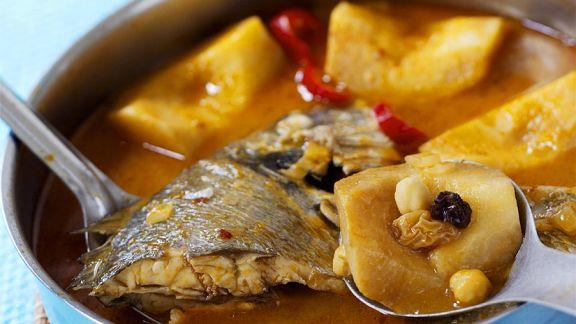 Rezept: Suppe mit Dorade und Quitten
