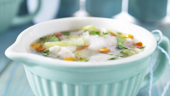 Rezept: Suppe mit Fisch