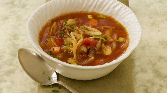 Rezept: Suppe mit Kohl