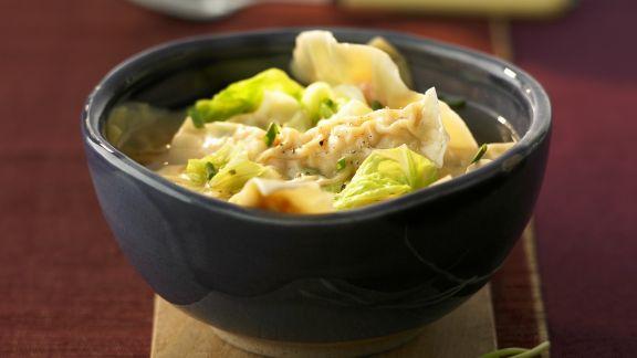 Rezept: Suppe mit Wan-Tan