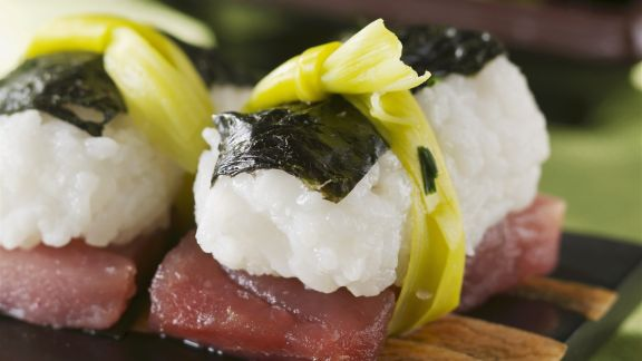 Rezept: Sushi mit Thunfisch
