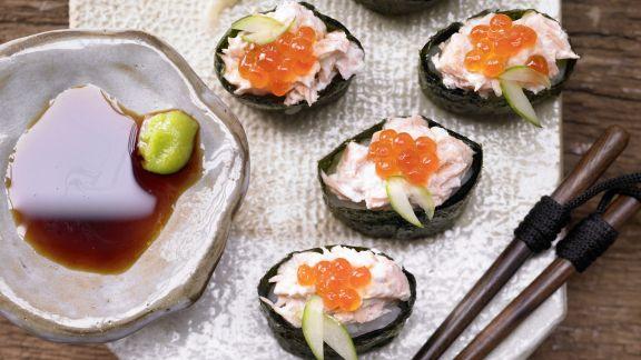 Rezept: Sushi-Schiffchen