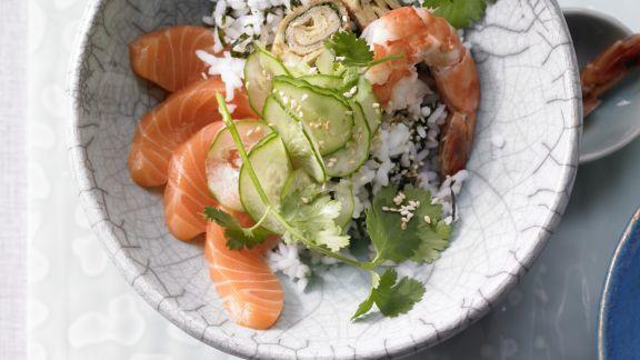 Rezept: Sushi aus der Schüssel