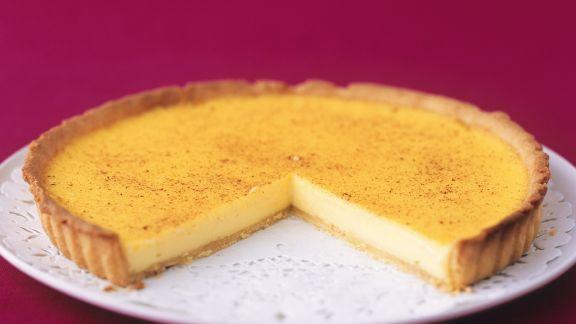 Rezept: Tarte mit Puddingfüllung (Custard Tart)