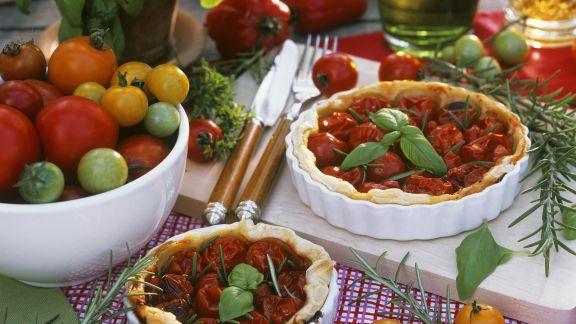 Rezept: Tarte mit Tomaten