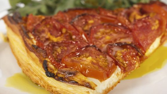 Rezept: Tarte mit Tomaten und Ricotta