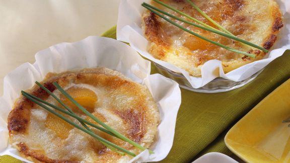 Rezept: Tartes mit Aprikose und Gorgonzola