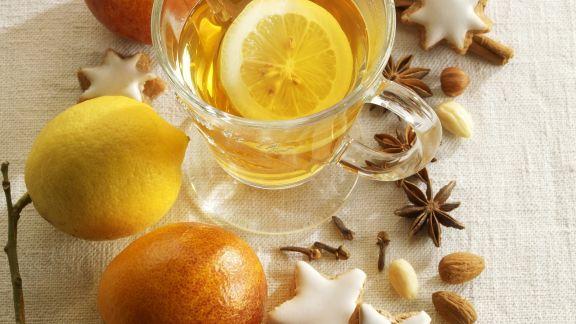 Rezept: Tee mit Zitrone