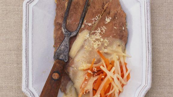 Rezept: Tellerfleisch mit Meerrettichsoße