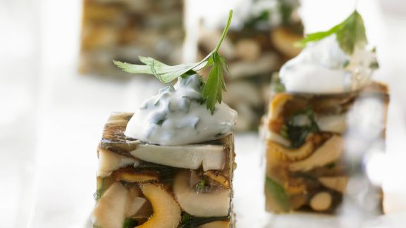 Rezept: Terrine mit Pilzen
