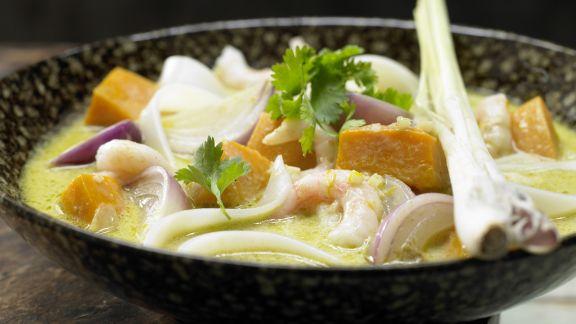 Rezept: Thai-Kürbistopf