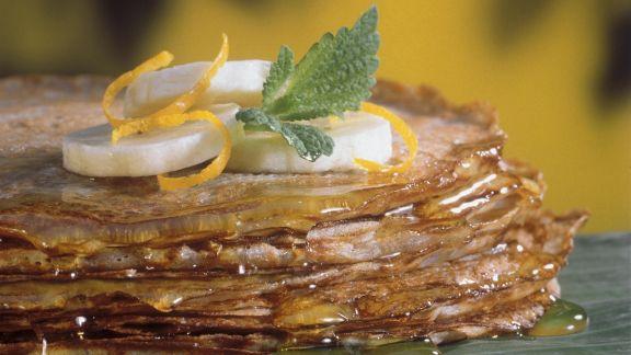 Rezept: Thailändische Bananen-Pfannkuchen